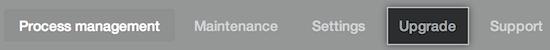 Upgrade tab