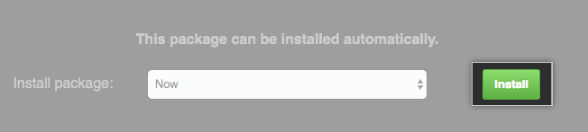 Hotpatch install button