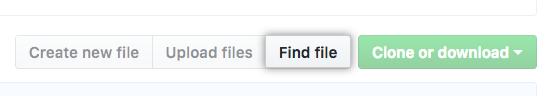 Find file button