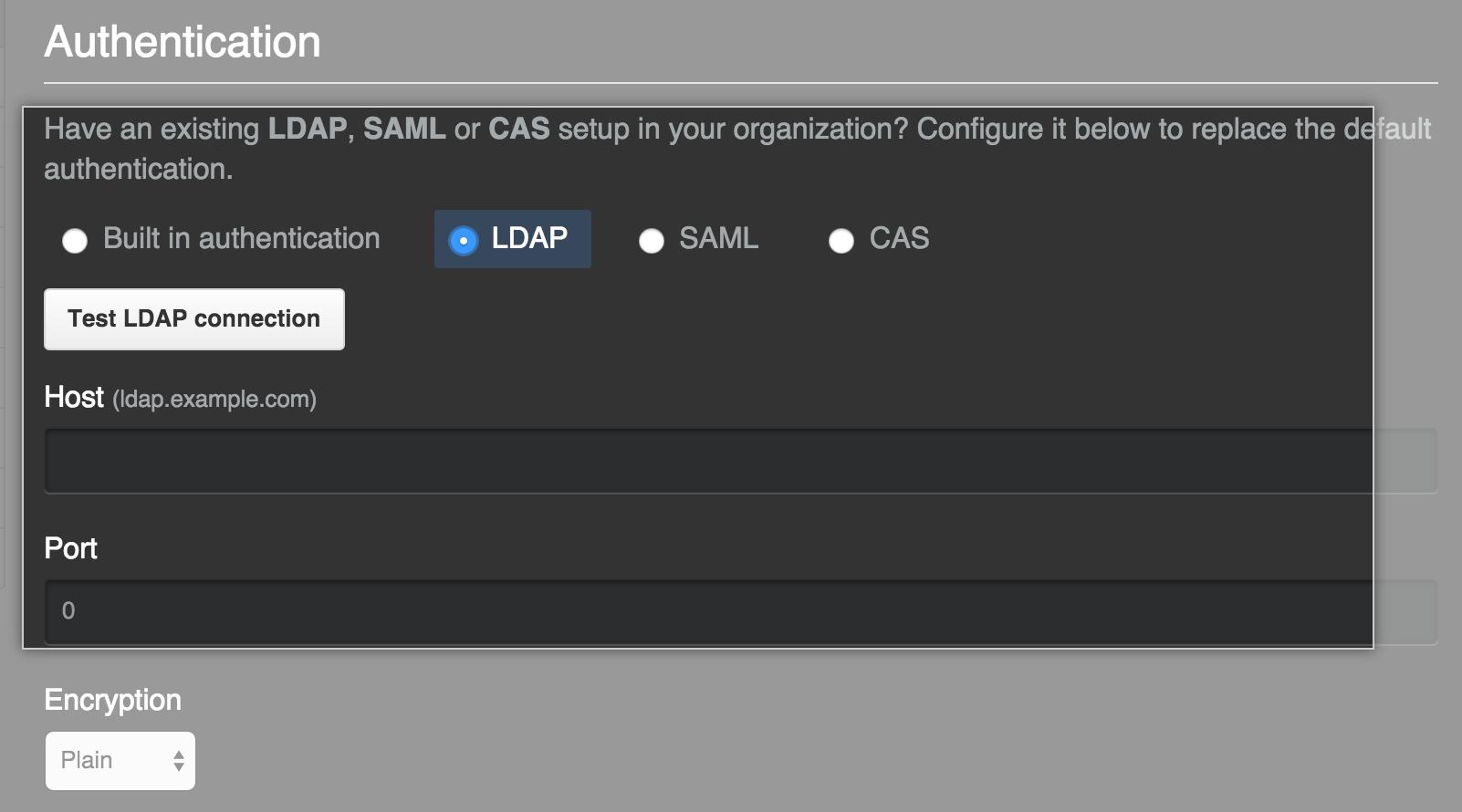 LDAP select