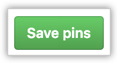 Save pinned repositories button