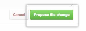 Commit Changes button