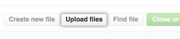 ファイルのアップロードボタン