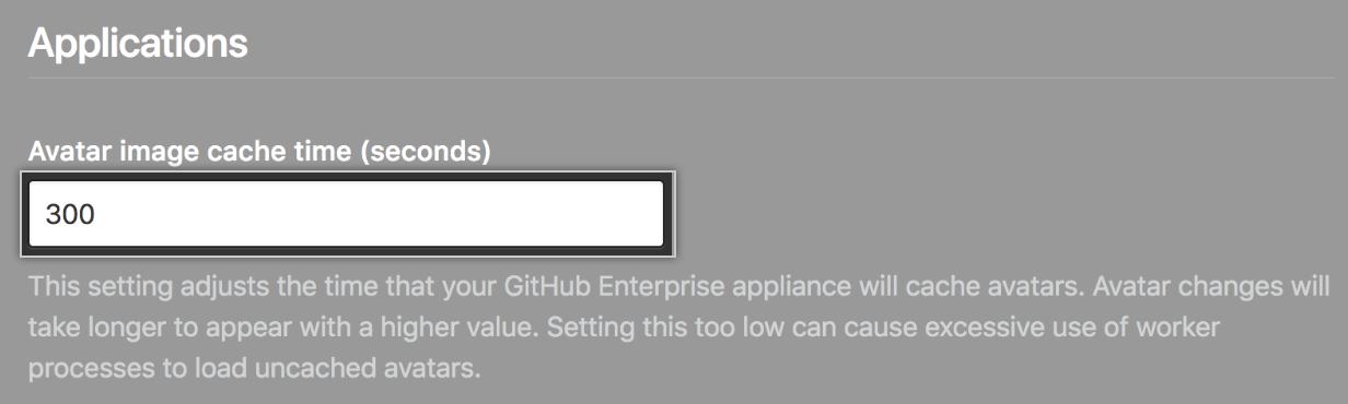 Campo de formulário imagem de avatar em cache