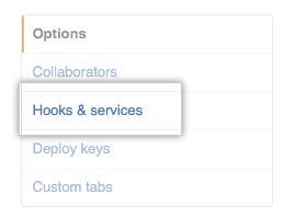 Hooks e serviços