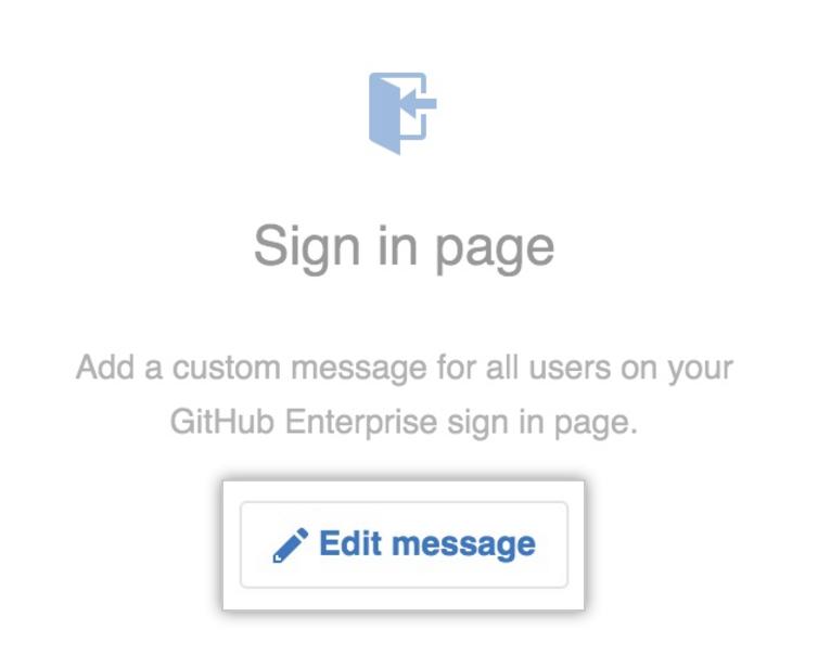 Edit message button