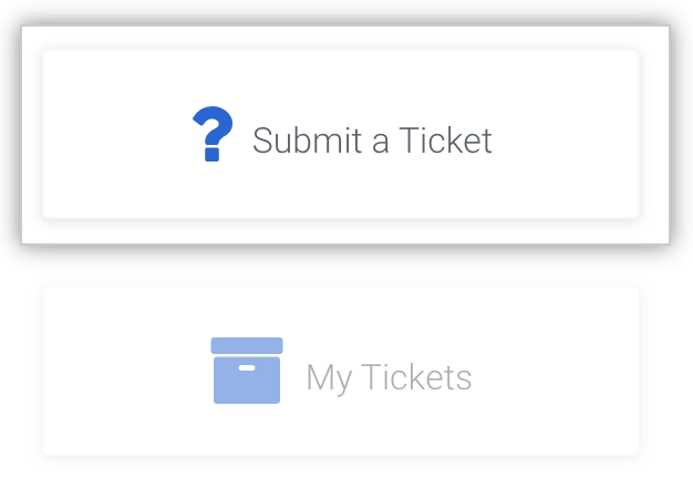 Emite un ticket al equipo de Soporte Empresarial