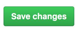 Botón para guardar los cambios en tu GitHub App