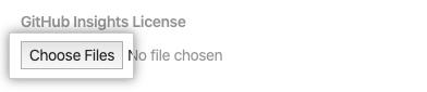 Escolha o botão Arquivos