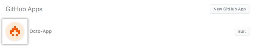 GitHub App を選択