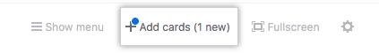 Agregar botón de tarjetas
