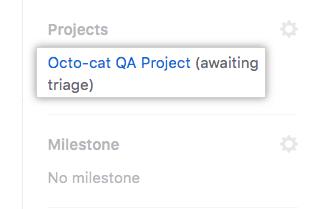 Enlace al tablero de proyecto
