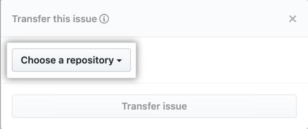 Seleção em Choose a repository (Escolher um repositório)