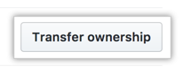 Botão para transferir a propriedade