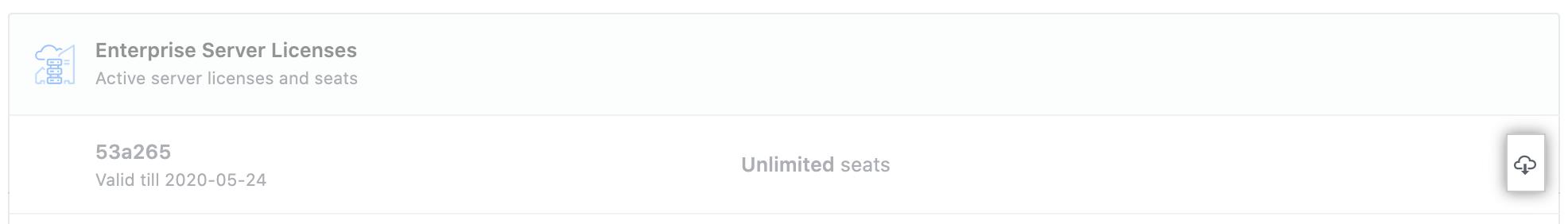 GitHub Enterprise Server ライセンスをダウンロードする