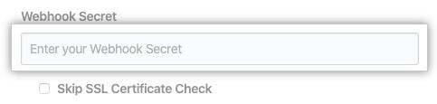 Web 挂钩密码字段