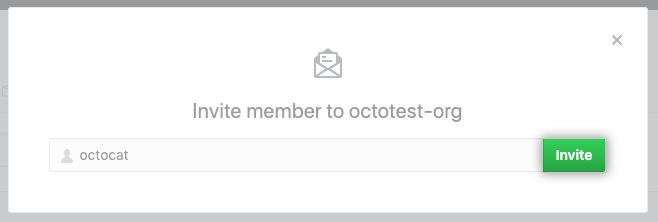 Invite member form