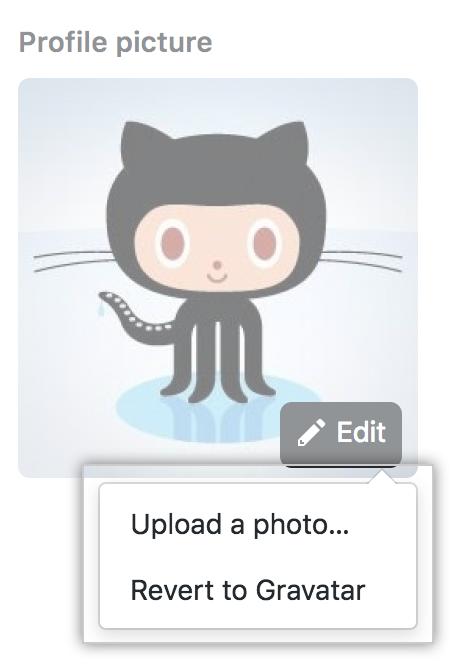 プロフィール画像の更新