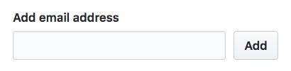 別のメールアドレスを追加するボタン