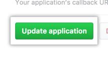 更新应用程序的按钮