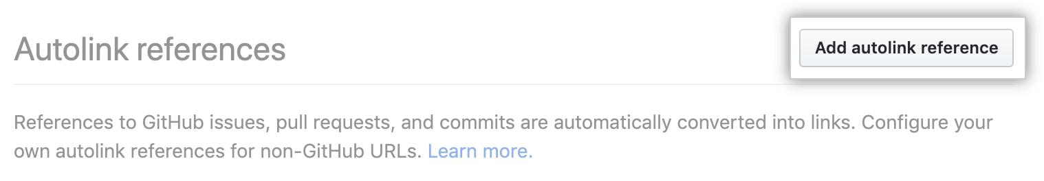 填写自动链接引用信息的按钮