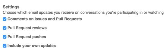 Configurar opciones de notificación por correo electrónico