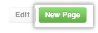 Wiki 新页面按钮