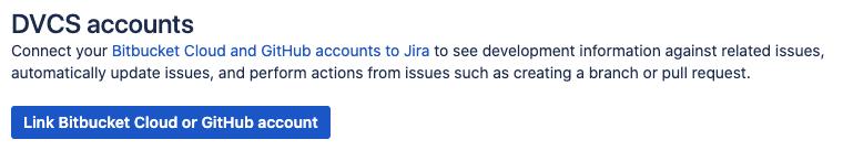 Link GitHub account to Jira
