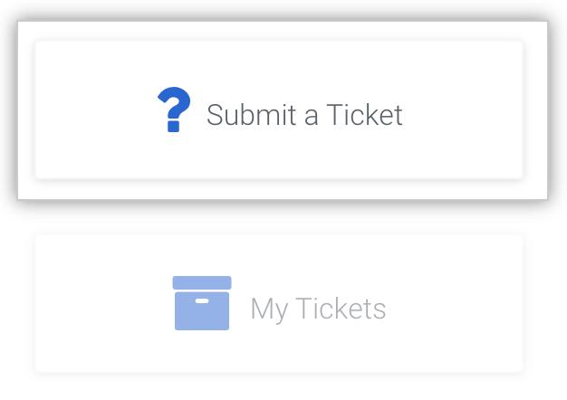 Ein Ticket beim Enterprise-Support-Team einreichen