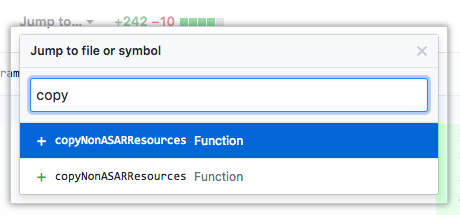 Filtrar funções e métodos