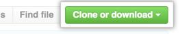 """Schaltfläche """"Clone or download"""" (Klonen oder herunterladen)"""