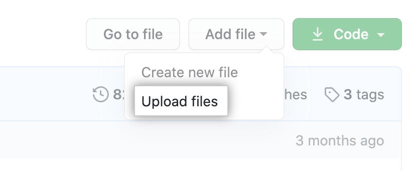 Butão Upload files (Fazer upload de arquivos)