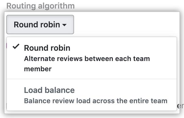 [Routing algorithm] ドロップダウン