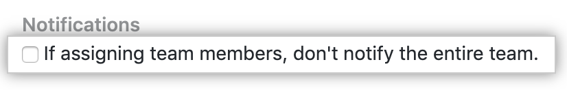 コードレビューの割当ての通知