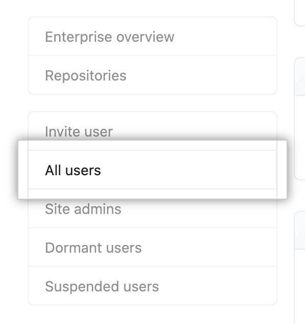 """All users"" sidebar item in site administrator settings"