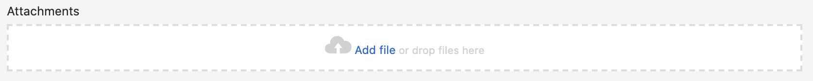 Add file button