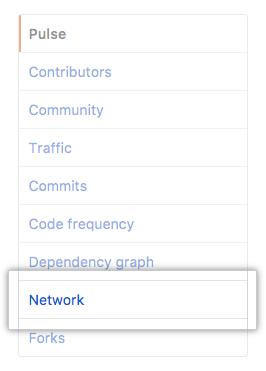 """Registerkarte """"Network"""" (Netzwerk)"""