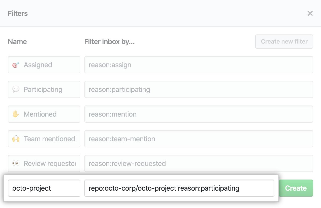 Exemplo de filtro personalizado