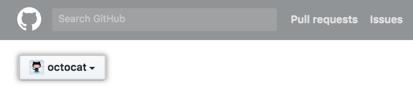 Context switcher button in Enterprise