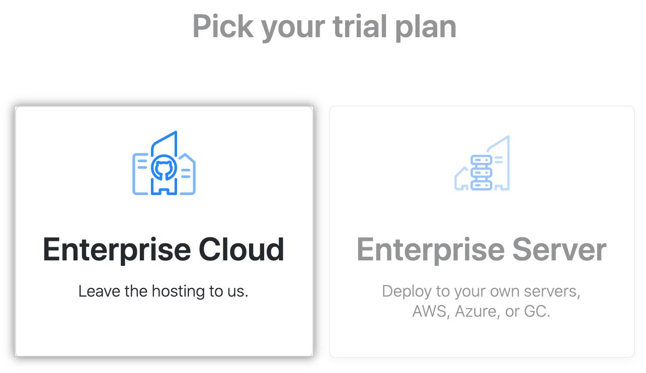"""""""Enterprise Cloud"""" button"""