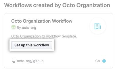 Configurar este flujo de trabajo