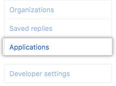 """Registerkarte """"Applications"""" (Applikationen)"""